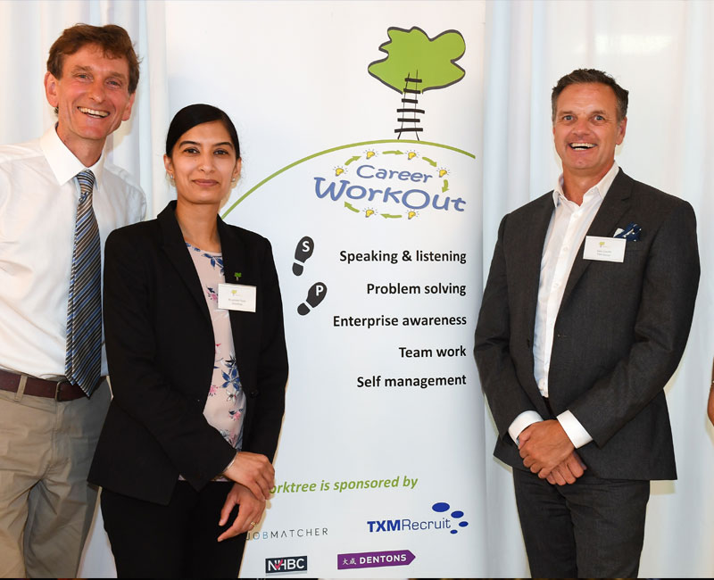 TXM and Worktree celebrate success
